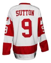 Any Name Number Youngblood Movie Hamilton Mustangs Hockey Jersey Sutton Any Size image 2
