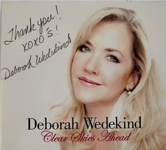 "Deborah Wedekind ""Clear Skies Ahead"" Autographed CD - $18.95"