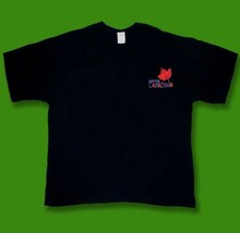 MOLSON CANADIAN - CLASSIC EMBROIDERED LOGO BEER, ALE, T-SHIRT *NEW* / SZ. M - $11.34