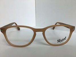 New Persol 3085-V 9018 Matte Beige 53mm Oval Rx Eyeglasses Frame Italy  - $99.99
