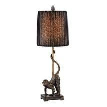 Dimond Lighting D2477 Aston Monkey Accent Lamp, Bissau Bronze - $77.46