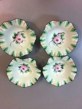 "6 Chikaramachi Porcelain Flower Made in Japan Ruffled Edge Miniature 3"" ... - $74.54"