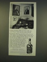 1990 Jack Daniels Whiskey Ad - Folks often ask us if there really was a ... - $14.99