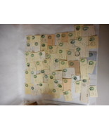 ON PIECES Collection/Lot Vintage Early US  WASHINGTON Territory Cancels ... - $34.60