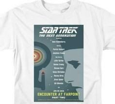 Star Trek T-shirt The Next Generation Encounter at Farpoint graphic tee CBS2018 image 2