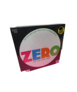 Zero Board Game Question And Answer Game Ages 12+ Aim Low Score High New... - $18.81