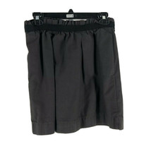 J. Crew Women's Gray 100% Cotton Mini Flare Skirt Size 2 - $13.86