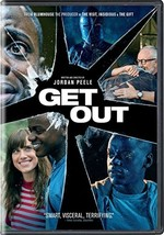 Get Out 2017 DVD Mystery Thriller Phycological Movie Race Black White T... - $31.17