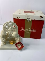 2001 Department 56 Snowbabies We'll Light the Tree Pierced Votive Figurine - $25.99