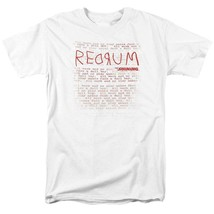 The Shining RedRum t-shirt retro 80's horror movie graphic tee WBM563 image 1
