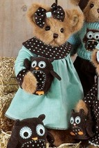 "Bearington Bears ""Heather & Hooter"" 14"" Plush Bear- #179900 - New- 2010 - $59.99"