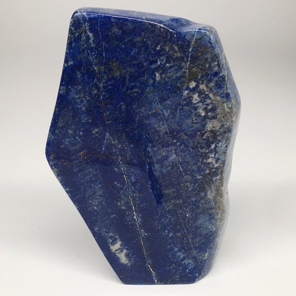 "6.5""x4.3""x1"", 904g,Natural Polished Freeform Lapis Lazuli @Afghanistan,PL119"