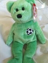 MWMT/Retired Kicks Soccer Beanie Baby Bear With Errors - $1,000.00
