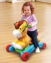 Rocking Horse Toy Gallop And Rock Learning Pony For Kids Toddlers Xmas Gift - $56.28