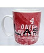Starbucks Mug Las Vegas Skyline Series One Sin City 2002 16 oz Red - $14.84