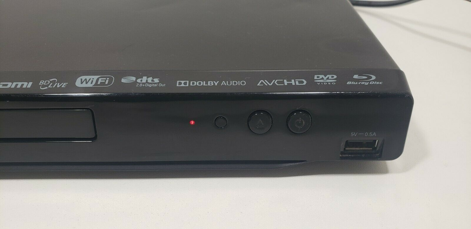 Philips Blu-Ray Disc Player BDP2501 with  Remote.. Tested image 3