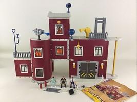 Imaginext Rescue Center City Building Firefighter EMT Police 78328 Toy L... - $44.50
