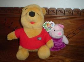 Winnie the Pooh Bear & Piglet Puppet - $67.50