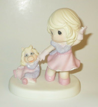 Our Friendship Is Fabulous Precious Moments Figurine Miss Piggy Muppets ... - $56.42