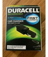 DURACELL Rechargeable Fast Charging Car Charger for Samsung Kindle & More - $12.86