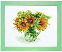 Lucian Fujico collection sunflower 673 - $87.92