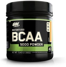 Optimum Nutrition Instantized BCAA Powder 40 Servings, Keto Friendly Bra... - $36.79