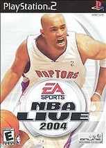 NBA Live 2004 - Playstation 2 Game Complete - $2.40