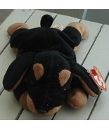Nice Gently Used TY Beanie Baby Dog, Doby, 1996, EXCELLENT COND - $7.91