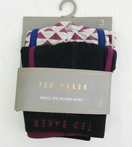 NEW Ted Baker Men's Boxer Brief Pack of 2 Assorted Colors M L XL - $24.99