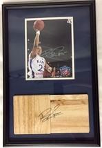 Brandon Rush AUTOGRAPHED Floor & 8x10 Kansas Jayhawks LIMITED FIRS EDITION w/COA - $123.75