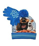 The Secret Life Of Pets Seeing Sausages Beanie And Glove Set (One size, ... - $7.95