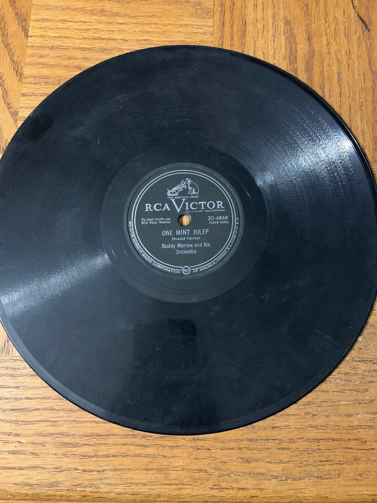 Buddy Morrow And His Orchestra Record