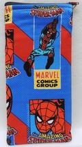 SPIDER-MAN SPIDERMAN SUPER HERO Zippered Fabric Pencil Pen Holder Case PENC - $4.00