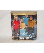 Star Trek 30th Anniversary Collector's Edition Barbie and Ken Star Trek ... - $14.24