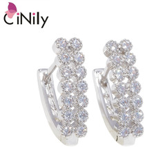 CiNily Created Cubic Zirconia Silver Plated Wholesale Hot Sell Fashion J... - $9.56+