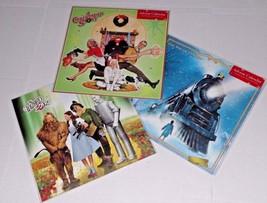 3 Advent Calendar w Stickers Christmas Story Wizard Oz Polar Express Browntrout - $15.83