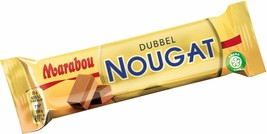 Marabou Dubbel Double Nougat 50 gram Creamy Chocolate Made in Sweden - $4.25+