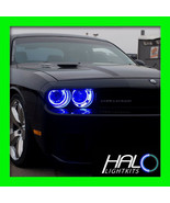 2008-2014 DODGE CHALLENGER BLUE PLASMA HALO HEADLIGHT RINGS KIT by ORACLE - $209.99