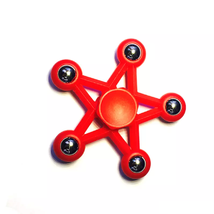 Five Star Fidget Spinner EDC Toy Relieves Stress - 1x w/Random Color and Design image 5
