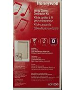 Honeywell RCW100KB Wired Chime Doorbell Contractor Kit 2 Buttons - $5.50