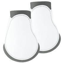 N147- HORZE HARD OUTER SHELL PROTECT NEOPRENE LINING FETLOCK BOOT WHITE ... - $26.95