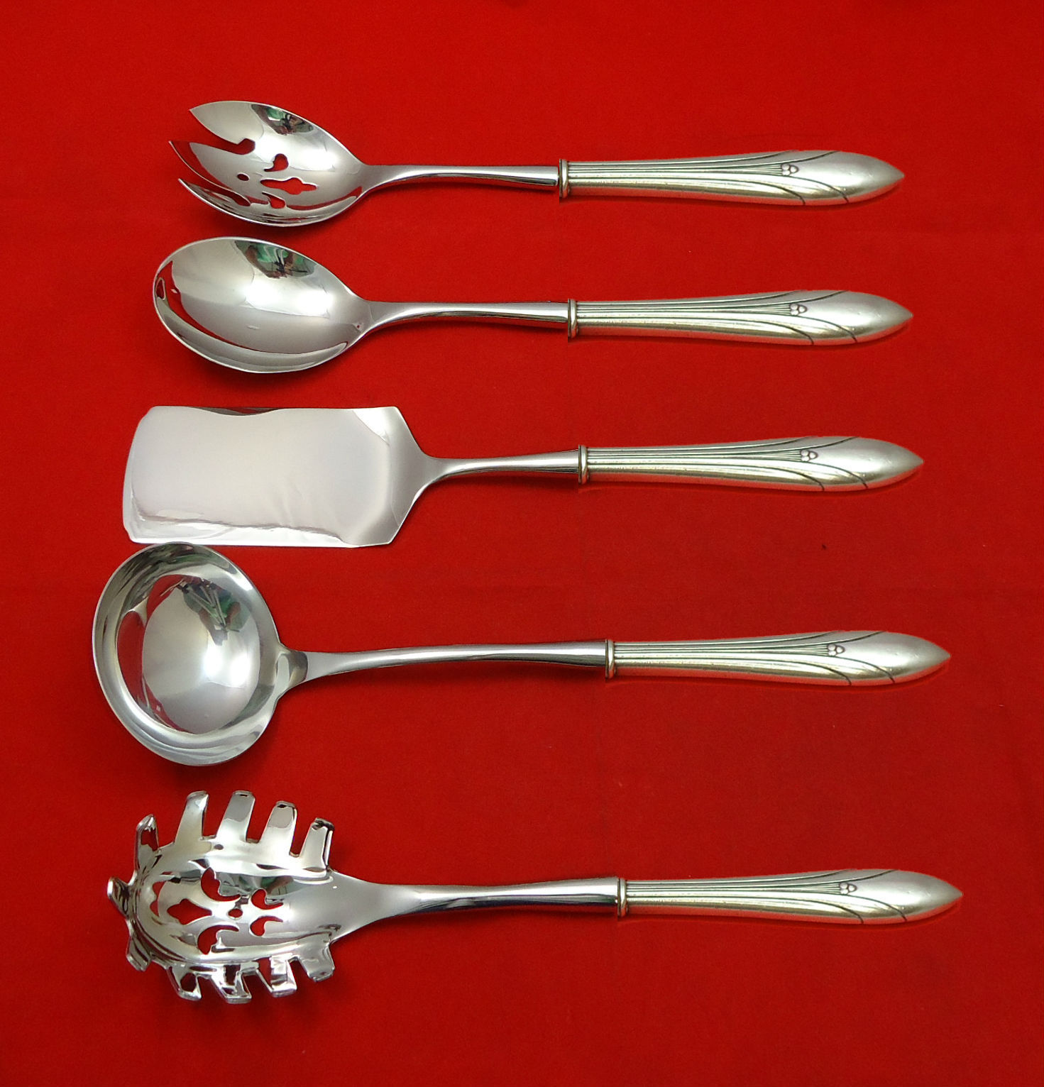 Primary image for Elsinore by International Sterling Silver Hostess Set 5pc HHWS  Custom Made