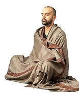 Prayer Shawl, Wool Wrap or Meditation Blanket for Men and Women, Unique ... - $49.99