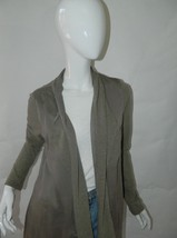 Anthropologie Greylin Open Front Hip Length Cardigan Sweater With Pocket... - $37.15
