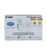 D-LINK PowerLine AV2 1000 Gigabit Start Kit - DHP-601AV - $55.55