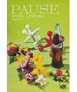 Pause for Living Spring 1968 Vintage Coca Cola Booklet Party Decor Dinne... - $8.90