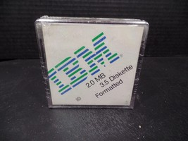 "IBM 2.0 MB 3.5"" Floppy Diskettes 10 Pack Sealed - $18.49"