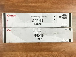 Lot Of 2 Canon GPR-15 Blk Toner For IR 2230 2270 2830 2870 Same Day Shipping!!!! - $99.00