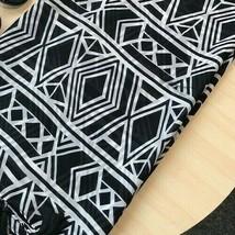 Georgette Chiffon Scarf Geometric tassels Shawl Wrap Headscarf 100CM by ... - $9.99