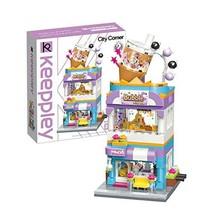 QMAN 302pcs Girls Building Blocks Toy Creative Bubble Tea House Building... - $37.21